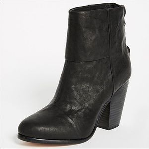 Rag & Bone Newbury boots black
